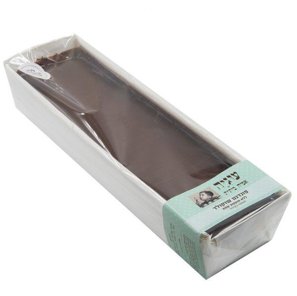 עוגת פונדנט שוקולד