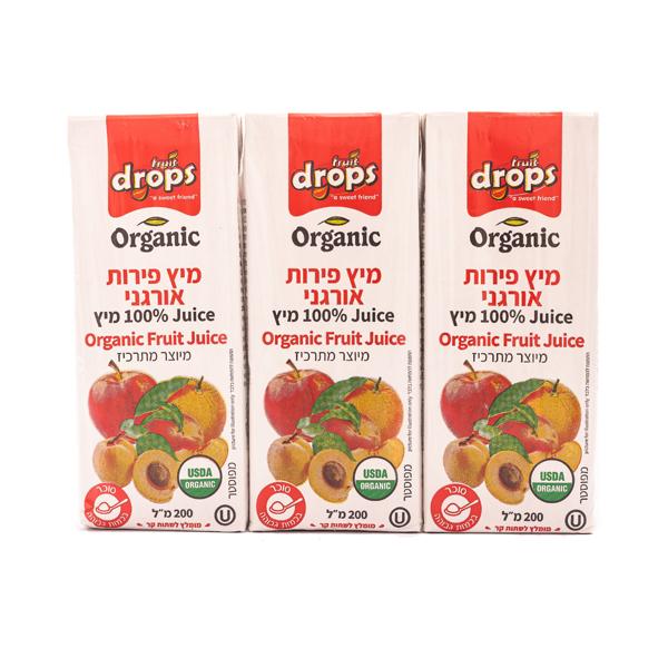 מיץ פירות אורגני