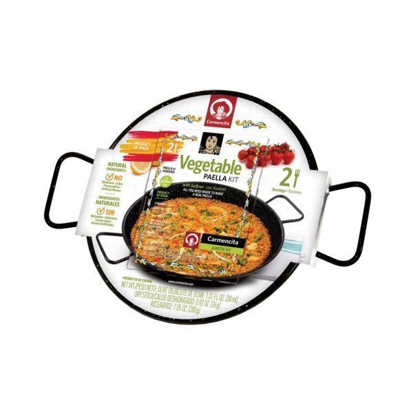ארוחת פאייה ירקות- מארז עם מחבת