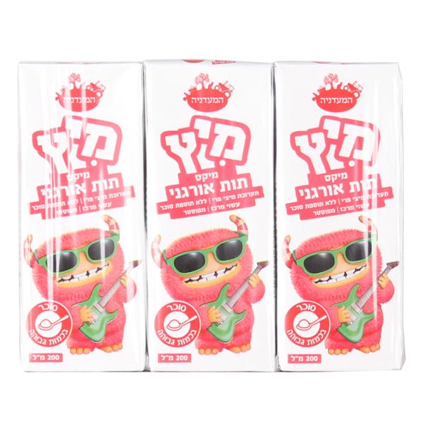 מיץ תות אורגני